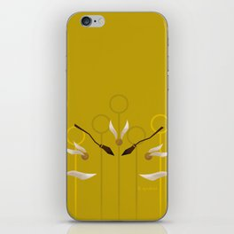 Catch the Snitch for Hufflepuff iPhone Skin