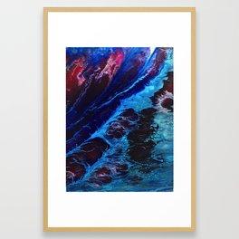 Cosmic Waves Framed Art Print