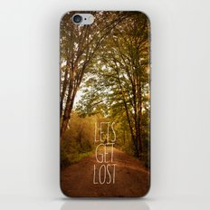 lets get lost iPhone & iPod Skin