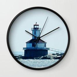 Summerside Harbour Lighthouse PEI Wall Clock