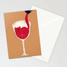Cup o' Kitty Stationery Cards