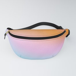 Beautiful Aqua, Turquoise, Pink,  Ombre Gradient Pattern Fanny Pack