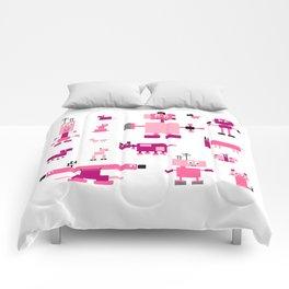 Robots-Pink Comforters