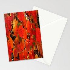 Blätter im Herbst Stationery Cards