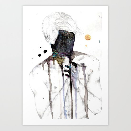 Lost boy Art Print