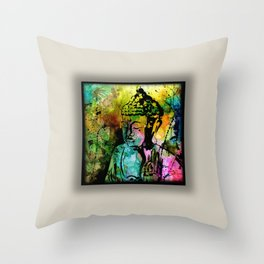 Buddha Love No.11-2018 by Kathy Morton Sta Throw Pillow