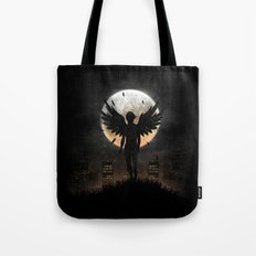 Lost in the world of humanity Tote Bag