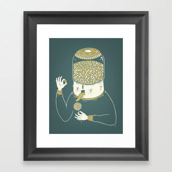 Candyholic Framed Art Print