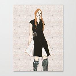 Akeela  Canvas Print