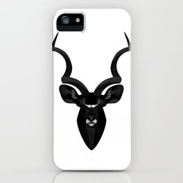 Dark Horns iPhone Case