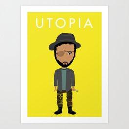 Wilson Wilson de Utopía Art Print