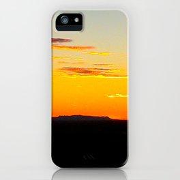 Grampians Mountain Range. iPhone Case