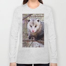 Possum Staredown Long Sleeve T-shirt