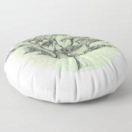 MYSTIC LOTE TREE Floor Pillow