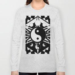 Yin Yang Orbit Long Sleeve T-shirt