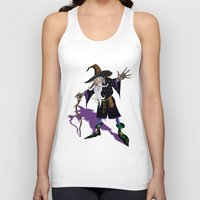 wizard Tank Tops featuring Wizard by Noughton
