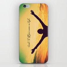 On High iPhone & iPod Skin
