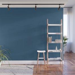 Sleepy Wolf ~ Steel Blue Wall Mural