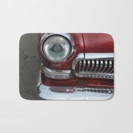 Retro cars antique parts and the elements Bath Mat