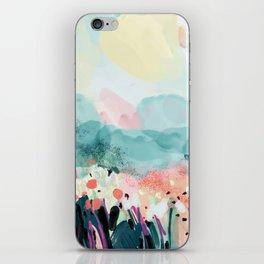 spring landscape iPhone Skin