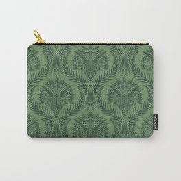 Triceratops Damask - Fern Carry-All Pouch