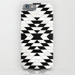 Urban Tribal Pattern No.15 - Aztec - White Concrete iPhone Case