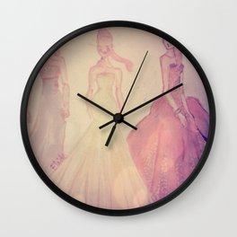 romantic girls Wall Clock