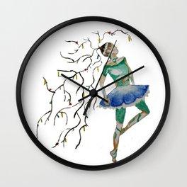 dancing nature Wall Clock