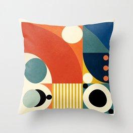 Roud Flow No. 3 Throw Pillow