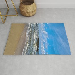 Sea waves | Nature Photography Rug
