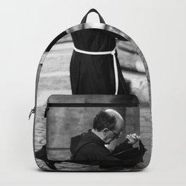 Priest, Rome 1989 Backpack