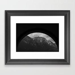 Busteni Framed Art Print