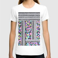 blanket T-shirts featuring Psychedelic blanket by Asja Boros