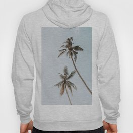 two palm trees Hoody