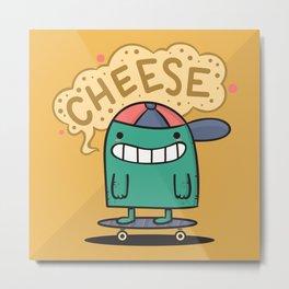 Cheese Guy Metal Print