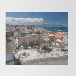 Ribeira Grande, Azores Throw Blanket