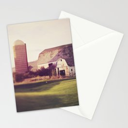 autumn barn Stationery Cards