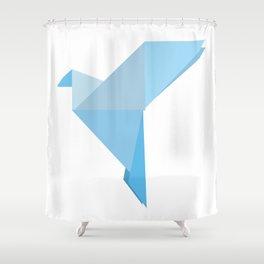 Taking Flight Origami Shower Curtain