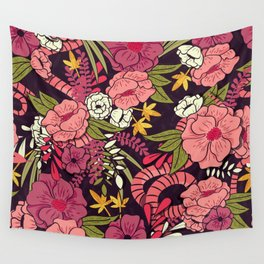 Jungle Pattern 001 Wall Tapestry