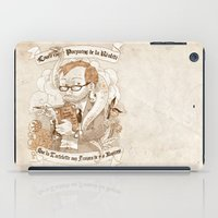 bouletcorp iPad Cases featuring Autoportrait by Bouletcorp