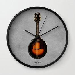 The 1943 Mandolin Wall Clock