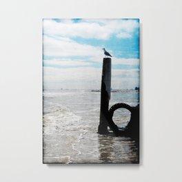 Quarter Deck Watch Metal Print