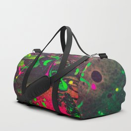Original Splatter Pour - Neon Screams Duffle Bag