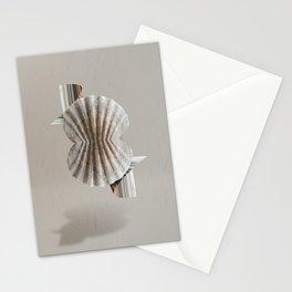 Symmetrical ocean Stationery Cards