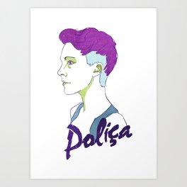 Polica Art Print