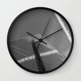 The Shard Reflections Wall Clock