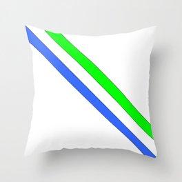 Flag of sierra leone 3 -salone,Sierra Leonean,Leone,Sierra Leona,freetown. Throw Pillow
