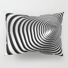 Square wormhole (b/w) Pillow Sham