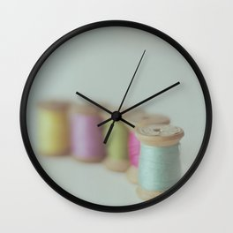 Line up, please Wall Clock