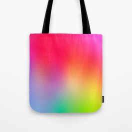 Fluorescent Neon Colors Tote Bag